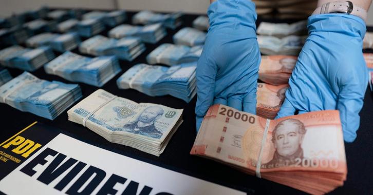 Policías de Chile-Colombia contra el delito de usura