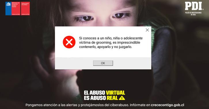 Autoridades alertan sobre el ciberabuso infantil
