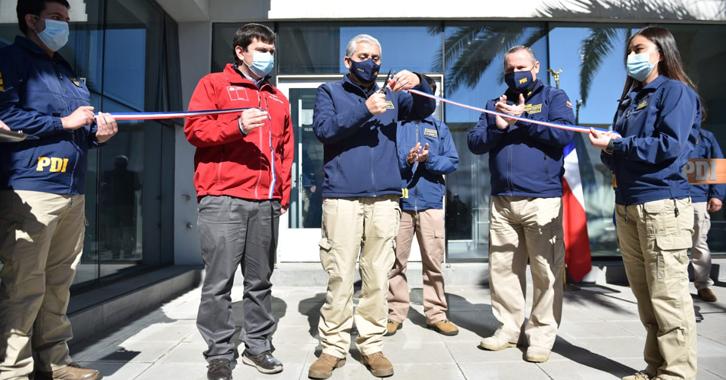 Inauguramos nuevo complejo policial en Linares