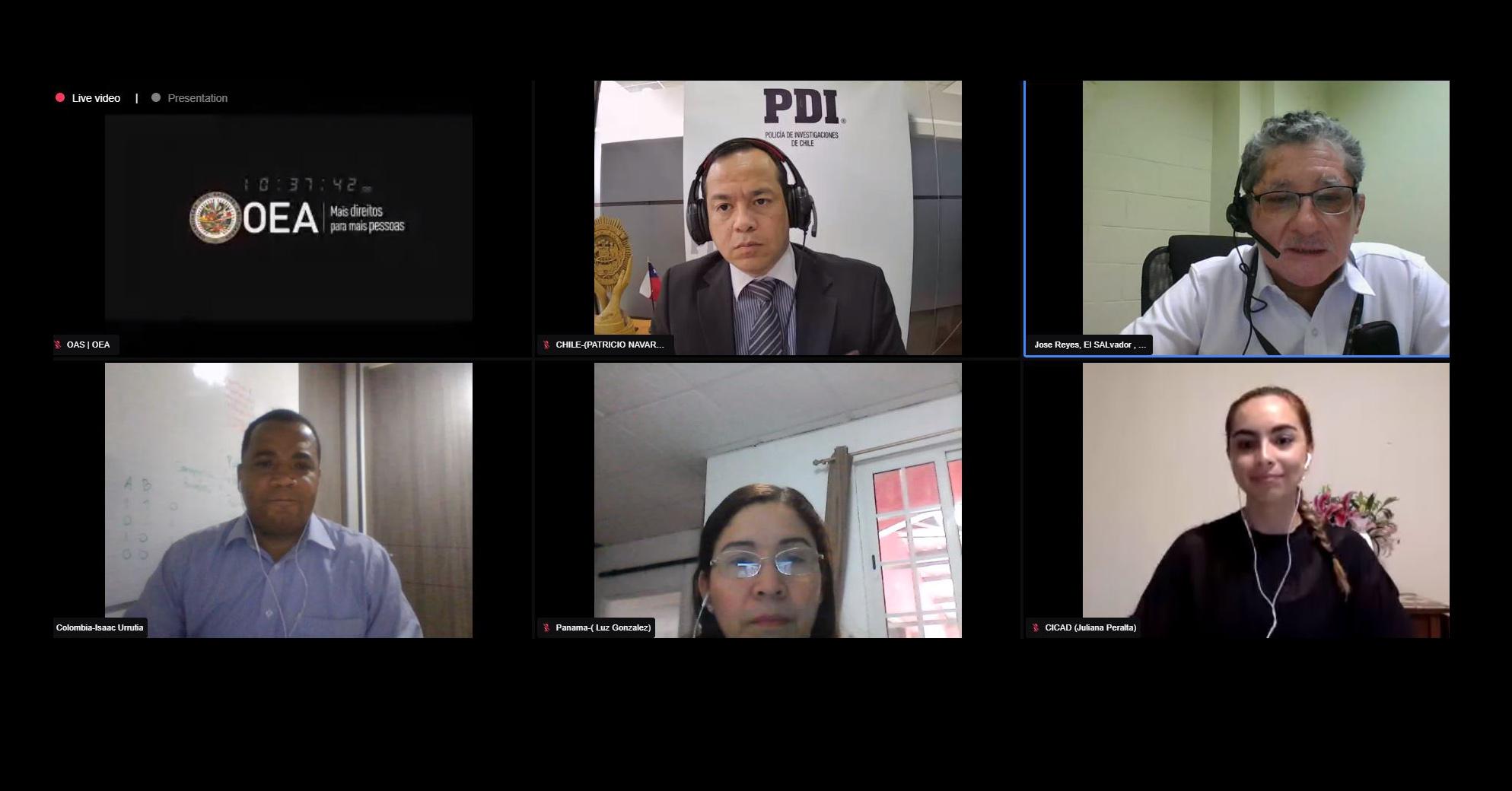 CICAD–OEA analiza tendencias en uso de precursores